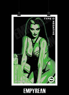 Type O Negative Black No. Negative Tattoo, Type 0 Negative, Munsters Tv Show, The Munsters, Goth Bands, Lily Munster, Chaos Lord, Peter Steele, Extreme Metal