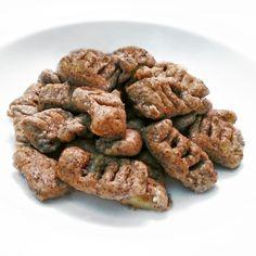 Fitness domácí celozrnné gnocchi - zdravý recept Bajola Gnocchi, Hummus, Sausage, Almond, Clean Eating, Food And Drink, Fitness, Cooking, Recipes