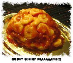Shrimp Brain Jello Mold Gross Halloween Food