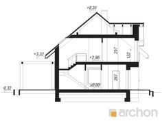 Dom w jabłonkach 17 Home Fashion, Pergola, Floor Plans, House Styles, Projects, Outdoor Pergola, Floor Plan Drawing, House Floor Plans