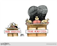 Prime Money-Ster #kartunzunar #cartoon #malaysia #primeminister #money #rosmah #duitrakyat