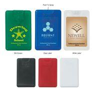 Show details for Card Shape Hand Sanitizer - .66 Oz.