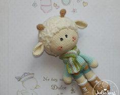 Crochet Dalmatian PDF pattern by JulioToys on Etsy