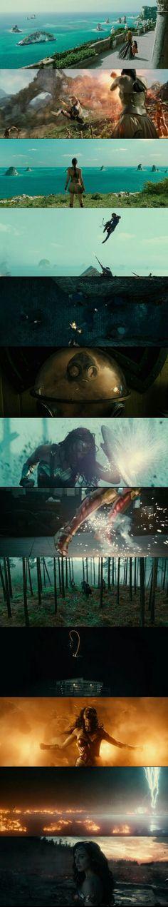 Wonder Woman (2017) Directed by Patty Jenkins. Cinematography by Matthew Jensen.