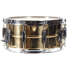 Ludwig 6.5x14 Bronze Phonic Snare Drum Smooth Shell w/Tube Lugs