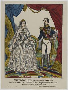 Napoleon and Eugenie as on their wedding day.