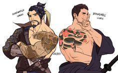 Overwatch Hanzo, Overwatch Comic, Overwatch Fan Art, Game Character, Character Design, Evil Anime, Fanart, Good Omens Book, Samurai Art