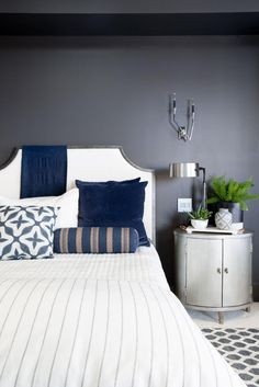 Pictures of the HGTV Smart Home 2017 Master Bedroom >> http://www.hgtv.com/design/hgtv-smart-home/2017/master-bedroom-pictures-from-hgtv-smart-home-2017-pictures?soc=pinterest