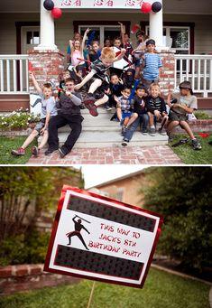 Ninja Themed Party {Boys 8th Birthday}
