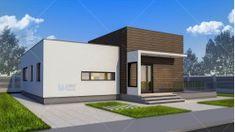 Proiect casa parter (100 mp) - Nadira