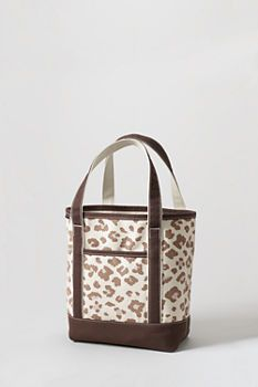 Print Medium Open Top Tote from Lands' End