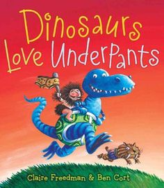Cassie is really into dinosaurs and loves saying underpants....need I say more!