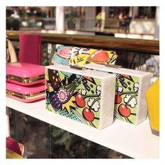 Starting to feel like summer with Annie Pop Art Pod. // #olgaberg #olgabergclutches #instagram