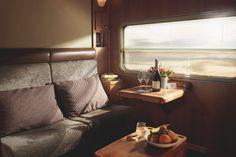 Platinum service cabin: The Ghan.
