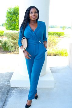 Teal Jumpsuit   Irony of Ashi