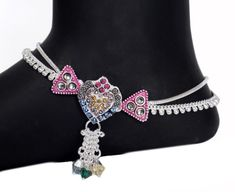 Feel Special with AMAN Silver anklets for Casual Wear and Anklets Payal Designs Silver, Silver Payal, Silver Anklets, Silver Jewelry, Jhumka Designs, Gold Jhumka Earrings, Anklet Designs, Temple Jewellery, Toe Rings