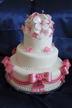 Cute cake , take off the bows though...