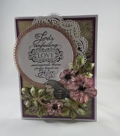 Heartfelt Creations, Blazing Poppy, Encouraging Scripture stamp, Cards by Carrie Leigh