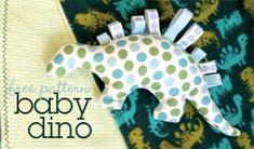 Free Sewing Pattern: Baby Dinosaur - I Sew Free