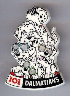 Disney 101 Dalmatians Puppies with sunglasses Pin/Pins