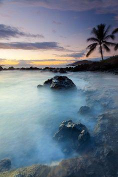 Maui, Hawaii- maui sunset at secret cove II by wingmar