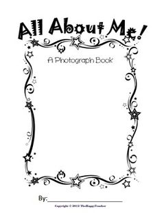 Showcase your Star Student of the Week with this All About Me Photograph Book.  {FREE!}