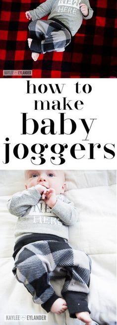 baby Harem pants how to make How to make Baby Joggers Tutorial - Baby Harem Pants tutorial Kaylee Eylander DIY