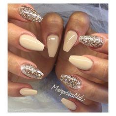 champagne color nails - Google Search