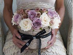 Jane Packer Delivered Valentine's Arrangement - Vintage Rose