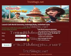 """Check out new work on my @Behance portfolio: """"Cafe World Hack Cheats Trainer"""" http://be.net/gallery/43718555/Cafe-World-Hack-Cheats-Trainer"""
