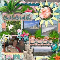 Kit and Template used: Tropical Paradise by L Drag Designs available at http://www.thedigichick.com/shop/Tropical-Paradise-Collection-by-LDrag-Designs.html