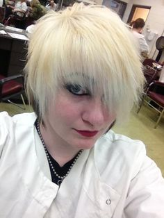 My Andy Sixx hair, color by me - cut by Johnathan.