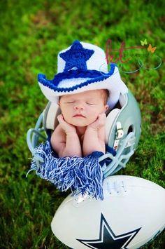 Dallas Cowboys Baby Cowboy Hat Set White And Royal Blue Newborn To 24  Months You Pick 494e6b856