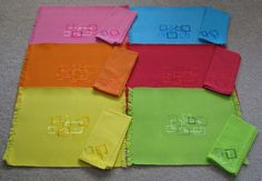 placemats colored - Google Search