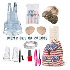 """First day of school outfit idea!"" by bballhotshot on Polyvore"