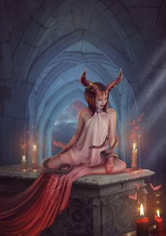 Blood Zodiac. Taurus by Vasylina.deviantart.com on @DeviantArt