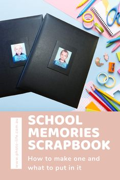 Do you have boxes and folders full of your kids school photos, certificates and school reports. I always felt it was such a shame to hide everything away until it's time to hand it over to the kids when they are older. What would they do with it all once I gave it to them anyway? Have a look at a few items then store them away in a cupboard again. So I got going on a project I had been wanting to do for quite some time and I'm really pleased with the results School Memories, School Photos, Cupboard, Boxes, Felt, Scrapbook, Store, Create, Projects