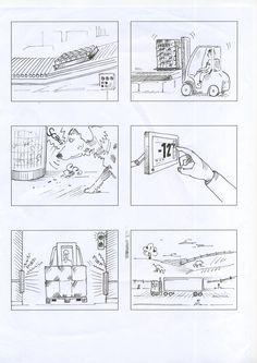 MARS Logistik storyboard