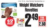 ShopRite: Weight Watcher's Products as low as $0.33 - http://www.livingrichwithcoupons.com/2013/01/weight-watchers-coupons-shoprite-0-33.html