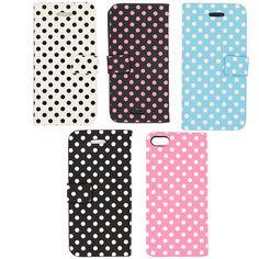 Polka Dots iPhone 5 Case Wallet $12.99