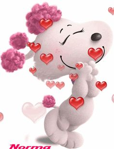 The perfect Snoopy Love Animated GIF for your conversation. Love Heart Gif, Love You Gif, Cute Love Gif, Snoopy Love, Gif Pictures, Love Pictures, Calin Gif, Bisous Gif, Coeur Gif