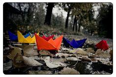 Autumn Boats by Eredel.deviantart.com