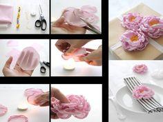 Maos que Criam by Maria Luiza: Pap de flores