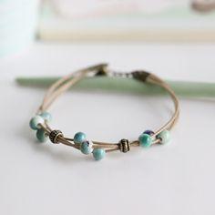 Mode Délicat Tissé à La Main En Céramique Perles Bracelet Originalité Chinois Style Bracelet Ornent L'article Livraison Gratuite 01005