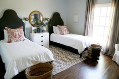 New Construction with Curated Charm in Texas – Design*Sponge Beautiful Bedrooms, Home, Room Planning, Home Bedroom, New Construction, Girl Room, Bedroom Inspirations, Cozy Guest Rooms, Guest Bedroom
