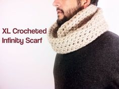 MORE VIDEO TUTORIALS HERE: http://www.youtube.com/user/TuteateTeam This step by step tutorial shows you how to crochet a circular scarf / infinity scarf with...