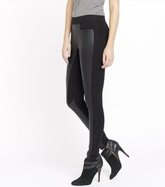 You look good, faux real. Update any outfit in an instant with these faux leather leggings.