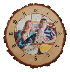 Personalized Clocks, Wood Slices, Marketing And Advertising, Unique Jewelry, Handmade Gifts, Vintage, Etsy, Kid Craft Gifts, Wood Rounds
