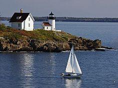 Curtis Island Lighthouse - Maine