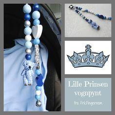LykkeLiten LILLE PRINSEN vognpynt Hanukkah, Pearl Necklace, Pearls, Baby, Jewelry, Decor, String Of Pearls, Jewlery, Decoration